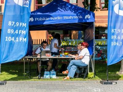 Plenerowe studio PRB w Augustowie, fot. Joanna Żemojda
