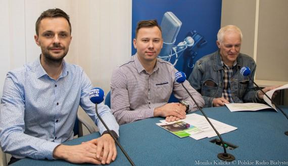 Adam Pućko, Robert Chorzelski i Wiesław Sarosiek, fot. Monika Kalicka