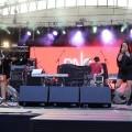 MATEO PAZ FEAT. MEG podczas finałowego koncertu Przebojem na Antenę, 26.06.2016, fot. Monika Kalicka