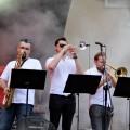 TRABANDA podczas finałowego koncertu Przebojem na Antenę, 26.06.2016, fot. Monika Kalicka