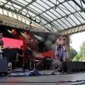 PAN PAN FEAT. NATALIA LUBRANO podczas finałowego koncertu Przebojem na Antenę, 26.06.2016, fot. Monika Kalicka