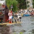 Pływanie na Byle Czym w Augustowie 2007