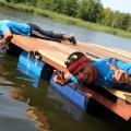 XX Mistrzostwa Polski w Pływaniu na Byle Czym - przygotowania, fot. Joanna Żemojda