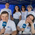 Radio Białystok w Augustowie, fot. Monika Kalicka