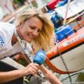 Pływanie na Byle Czym 2018 - przygotowania, fot. Joanna Szubzda