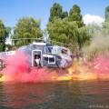 """""""Black Hawk Helikopter w ogniu"""", Pływanie na Byle Czym 2016, fot. Joanna Żemojda"""