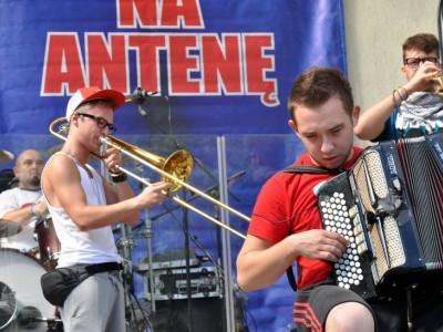 Przebojem Na Antenę 2012, próba zespołu Enej, fot. Joanna Żemojda