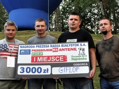 """Giflof zwycięzcą 10. edycji """"Przebojem Na Antenę"""", fot. Joanna Żemojda"""