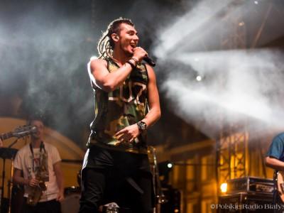 """Kamil Bednarek, koncert """"Białystok - miasto dobrej muzyki"""", fot. Joanna Żemojda"""