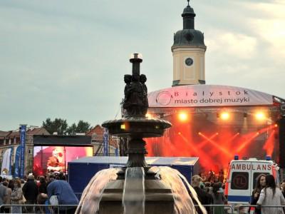 Koncert Klezmafour - Białystok - miasto dobrej muzyki, 31.08.2013, foto: Monika Kalicka