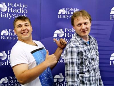 Piotr Ostaszewski i Leszek Przybysz z zespołu HOYRAKY, fot. Monika Kalicka