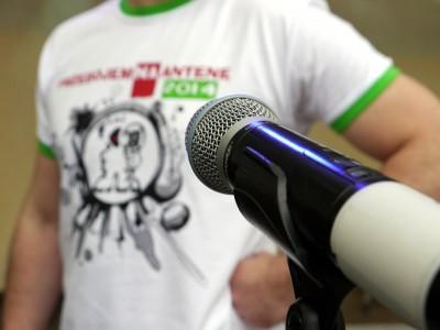 """Przygotowania do finału konkursu """"Przebojem na Antenę 2014"""", foto: Monika Kalicka"""