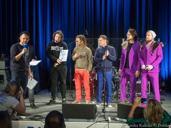 Nagroda jury Polskiego Radia Białystok - zespół Starsabout, fot. Sylwia Krassowska