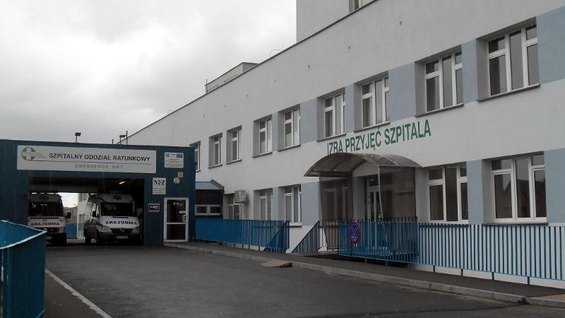 Szpital Wojewódzki w Suwałkach, fot. Anna Przybycień