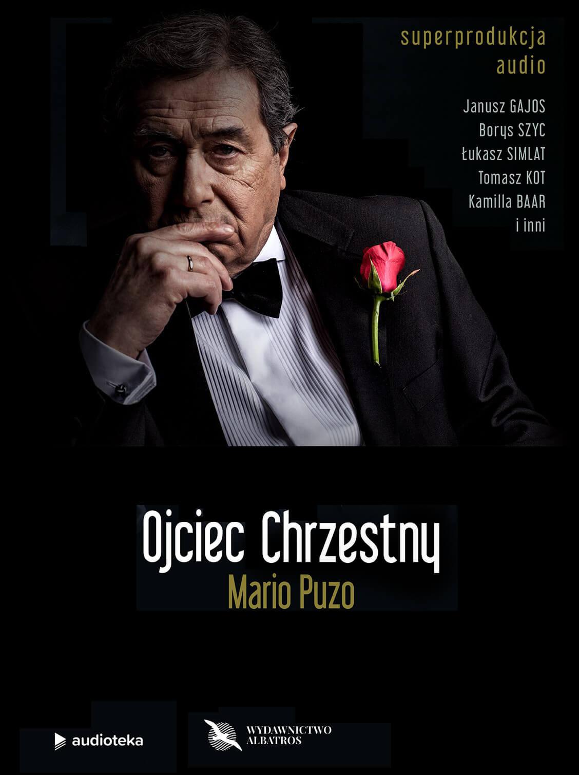 """Ojciec Chrzestny"" Mario Puzo"