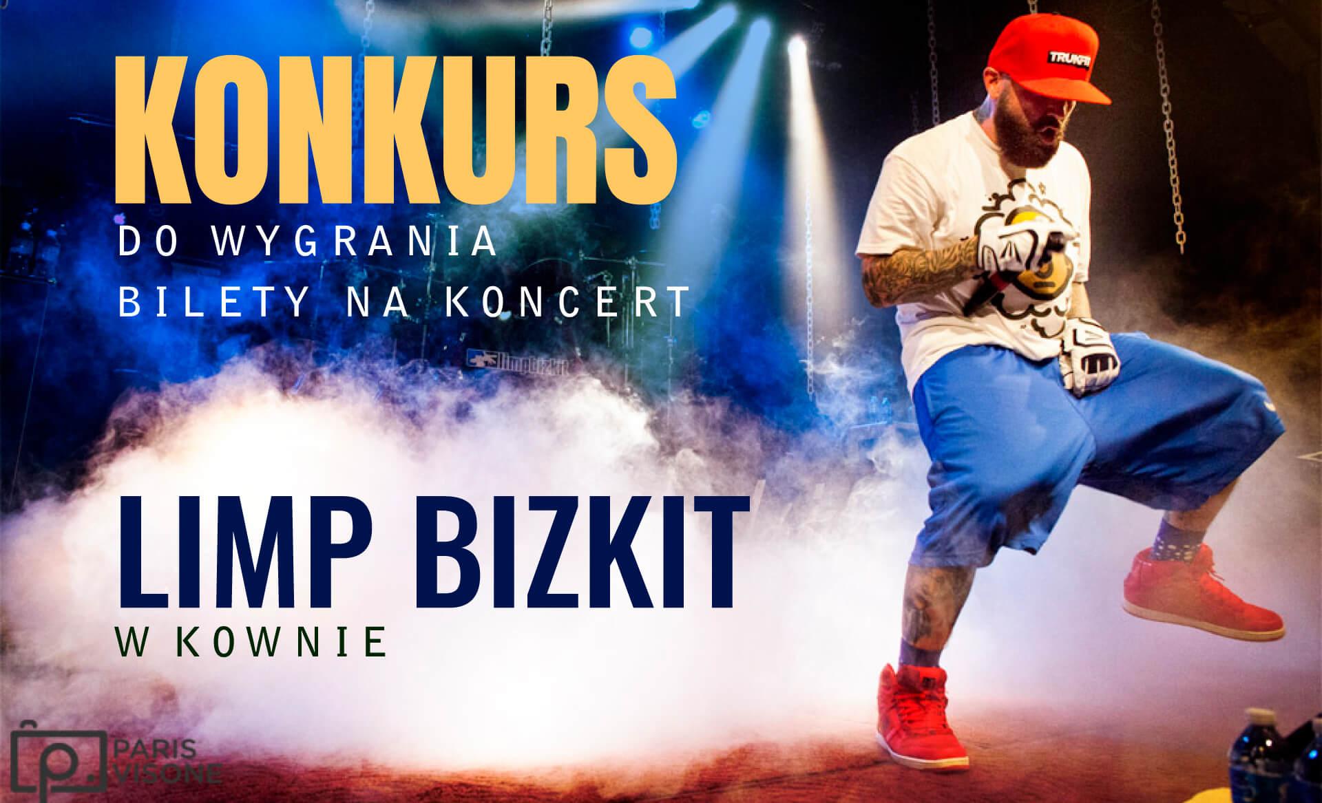 Bilety na koncert Limp Bizkit w Kownie!