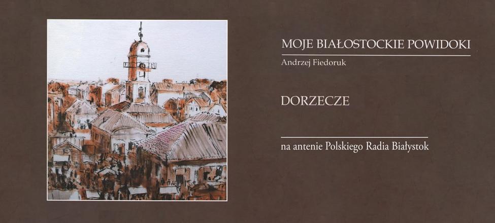 """Oprócz opowieści o kresowych smakowitościach, autor przenosi nas w czasy dzieciństwa i młodości spędzone na białostockiej wsi, jak i w samym """"Wielkim Mieście"""" Białystok."""