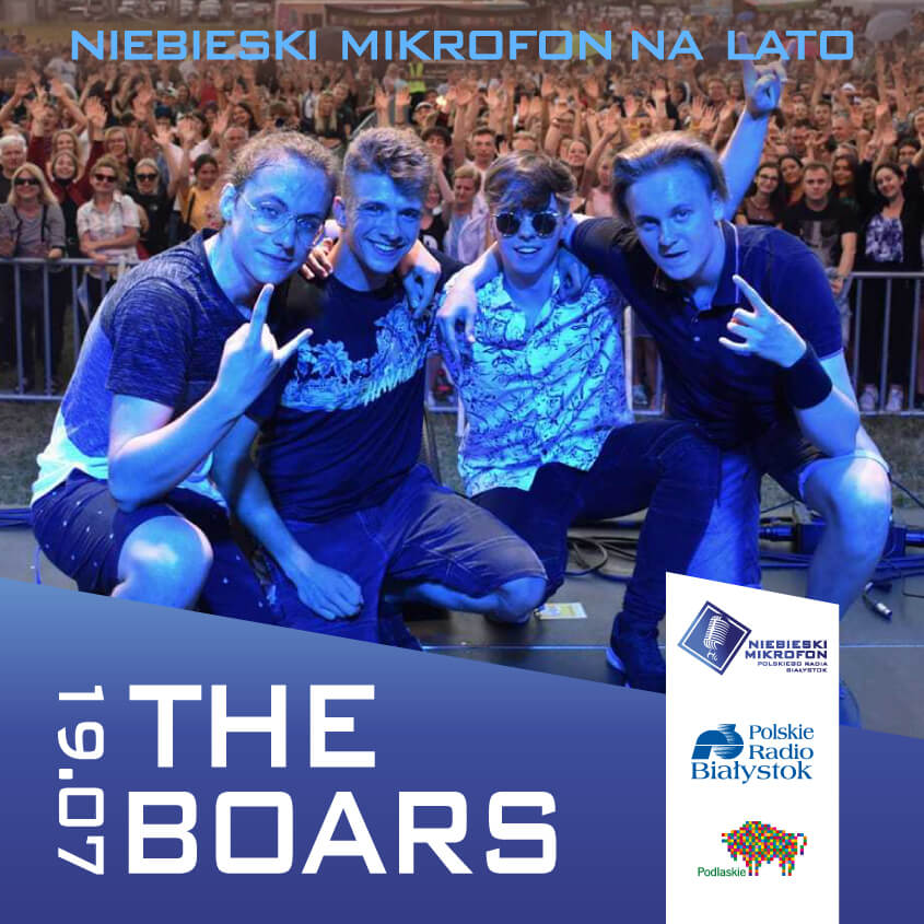 The Boars on-line w Polskim Radiu Białystok