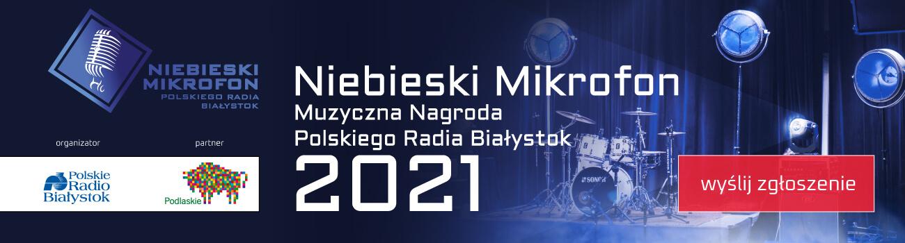 Niebieski Mikrofon 2021