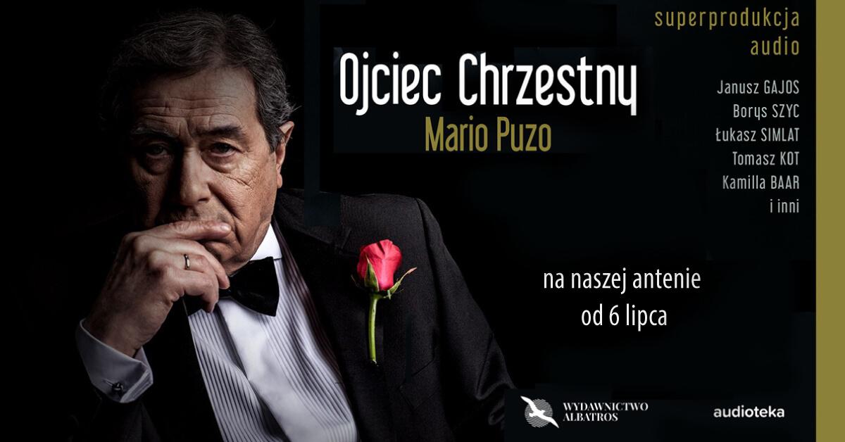Klasyka powieści mafijnej. Janusz Gajos w niezapomnianej roli Vito Corleone