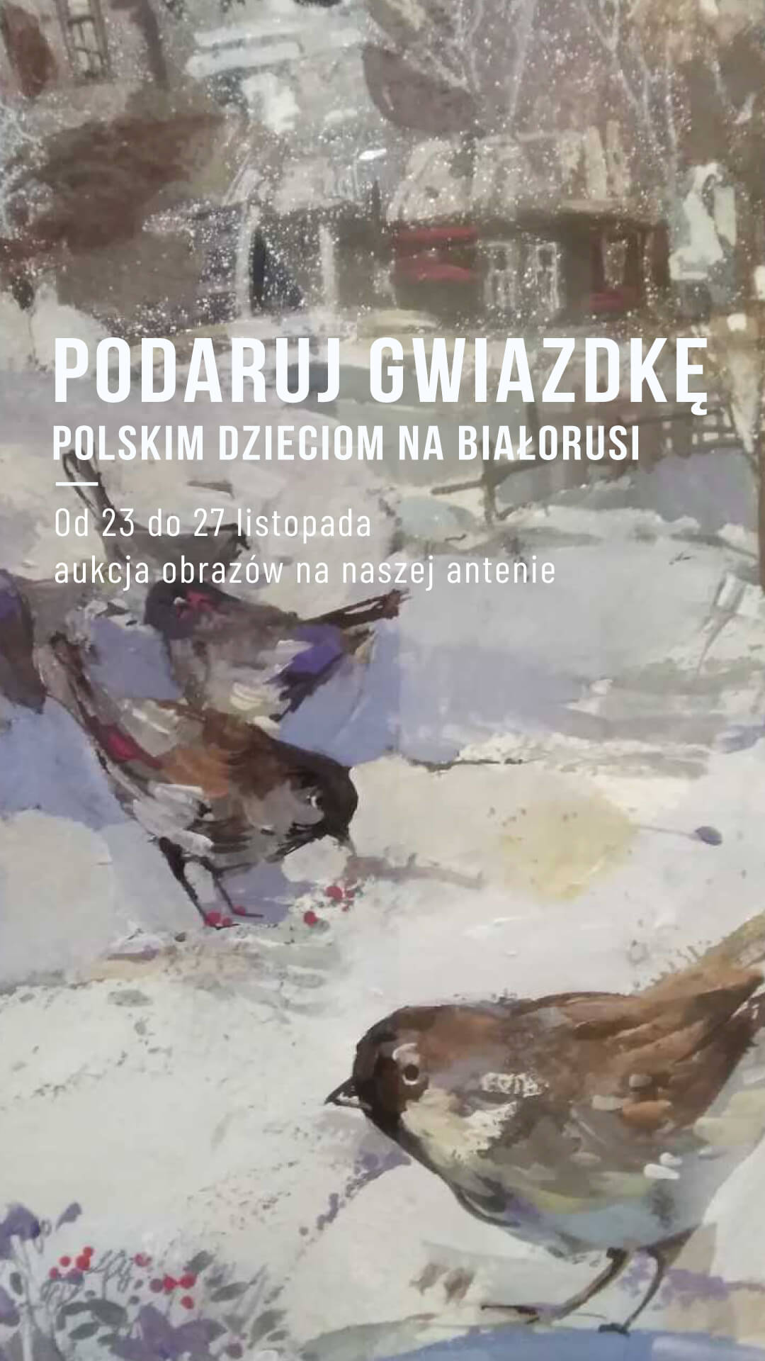 Podaruj gwiazdkę polskim dzieciom na Białorusi