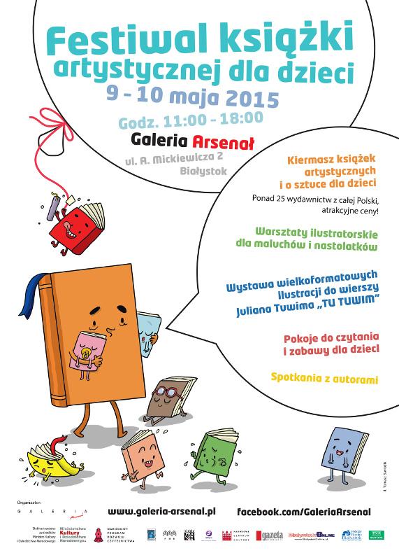 Festiwal Książki Artystycznej Dla Dzieci W Galerii Arsenał