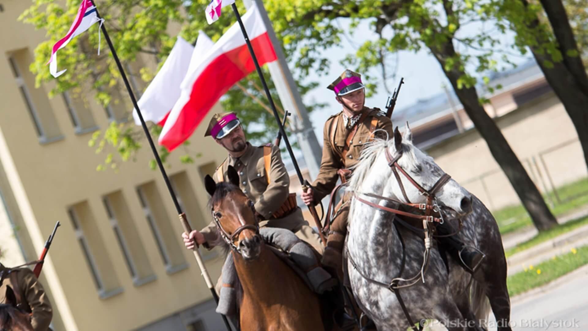 Święto 10. Pułku Ułanów Litewskich w Białymstoku, fot. Joanna Żemojda (zdjęcie archiwalne)