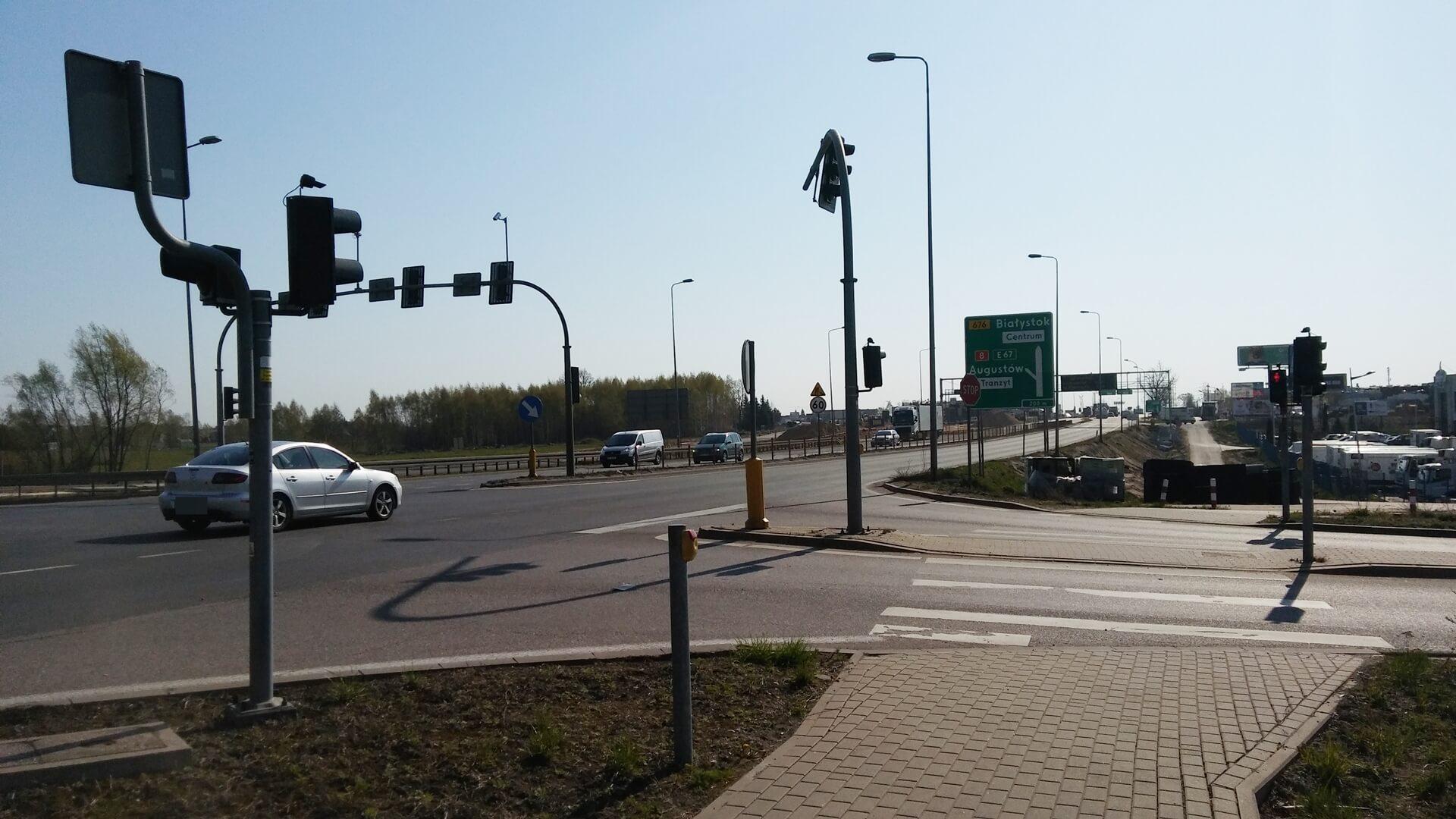 Drogowcy budują tzw. węzeł Porosły - kierowców czekają spore utrudnienia na wjeździe do Białegostoku od strony Warszawy, fot. Marcin Gliński