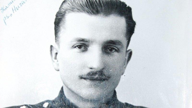 """Kazimierz Kamieński pseudonim """"Huzar"""", fot. z archiwum IPN"""
