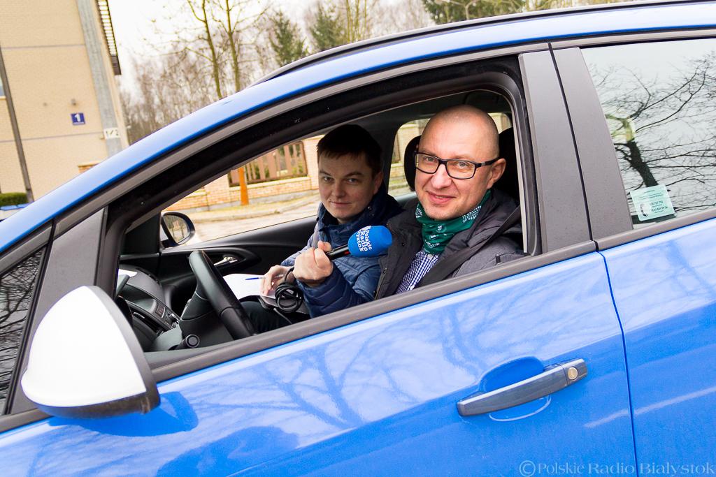 Andrzej Ryczkowski i Kamil Kalicki podczas eksperymentu, fot. Monika Kalicka