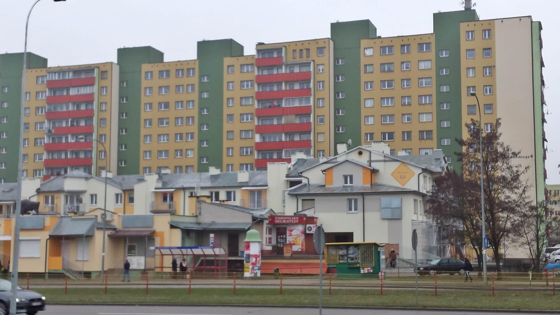 Bloki w Białymstoku, fot. Andrzej Bajguz