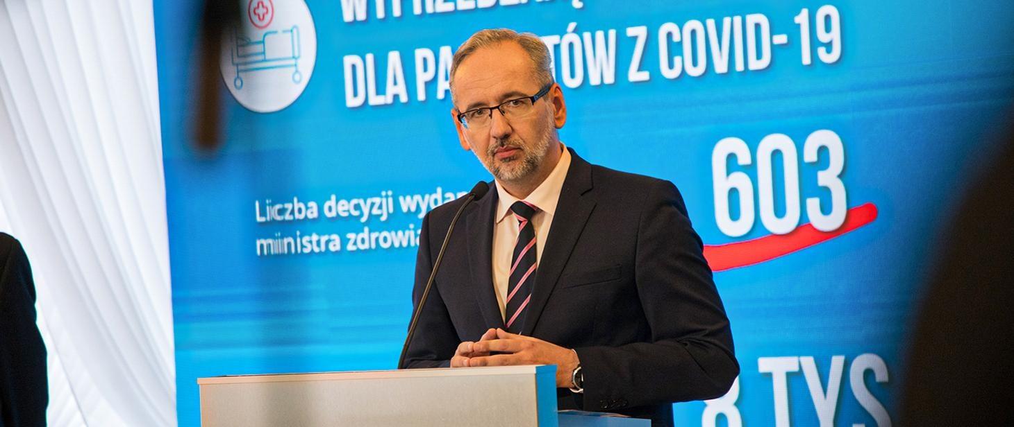 Minister zdrowia Adam Niedzielski - źródło: mz.gov.pl