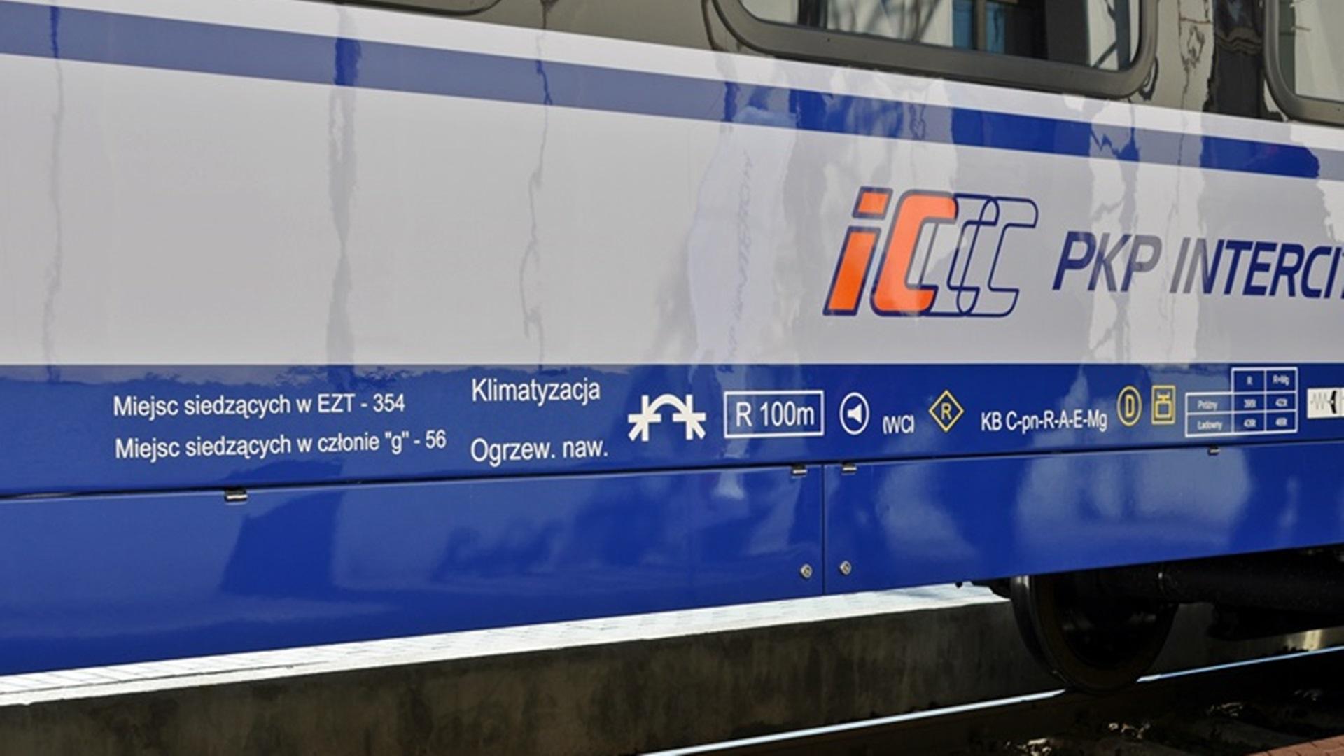Pociąg PKP Intercity - Fot. Wojciech Szubzda