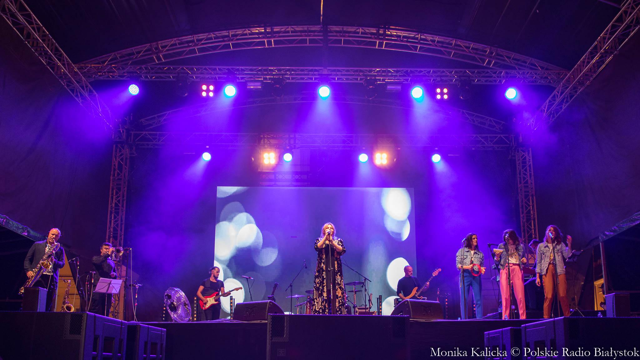 Białystok Miasto Dobrej Muzyki, koncert Ani Dąbrowskiej fot. Monika Kalicka