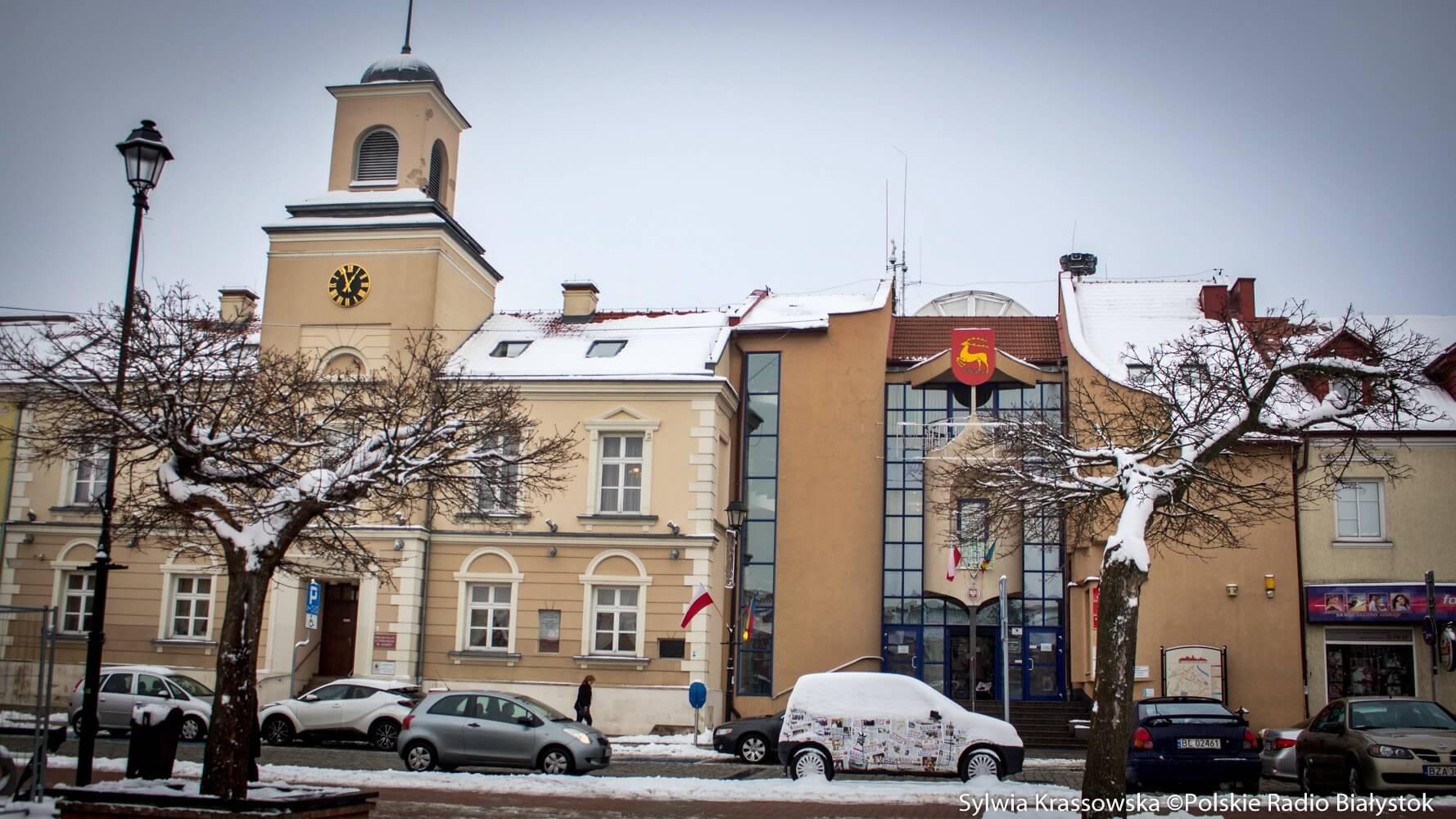 Ratusz w Łomży, fot. Sylwia Krassowska