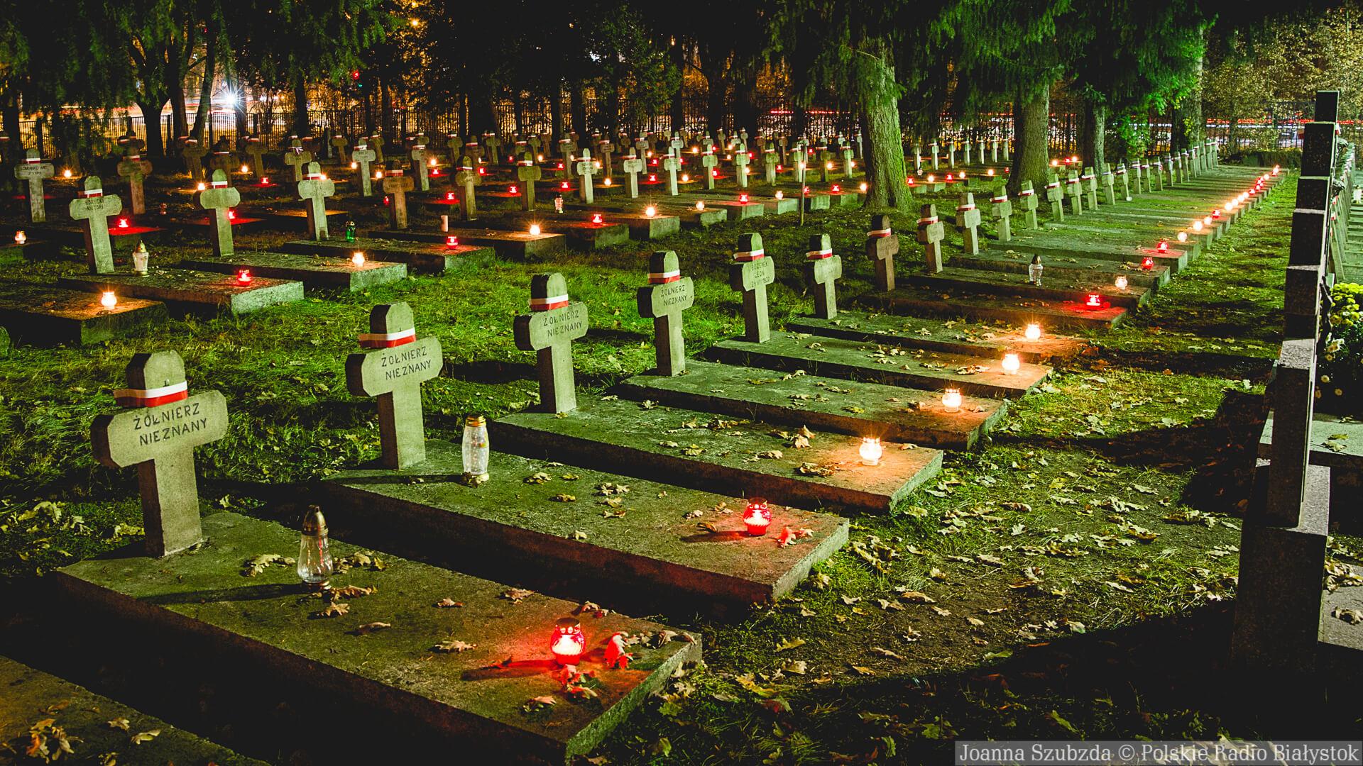 Światło pamięci Niezwyciężonym na 100-lecie niepodlegości, fot. Joanna Szubzda