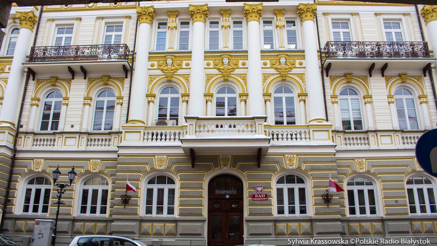 Sąd Okręgowy w Łomży, fot. Sylwia Krassowska