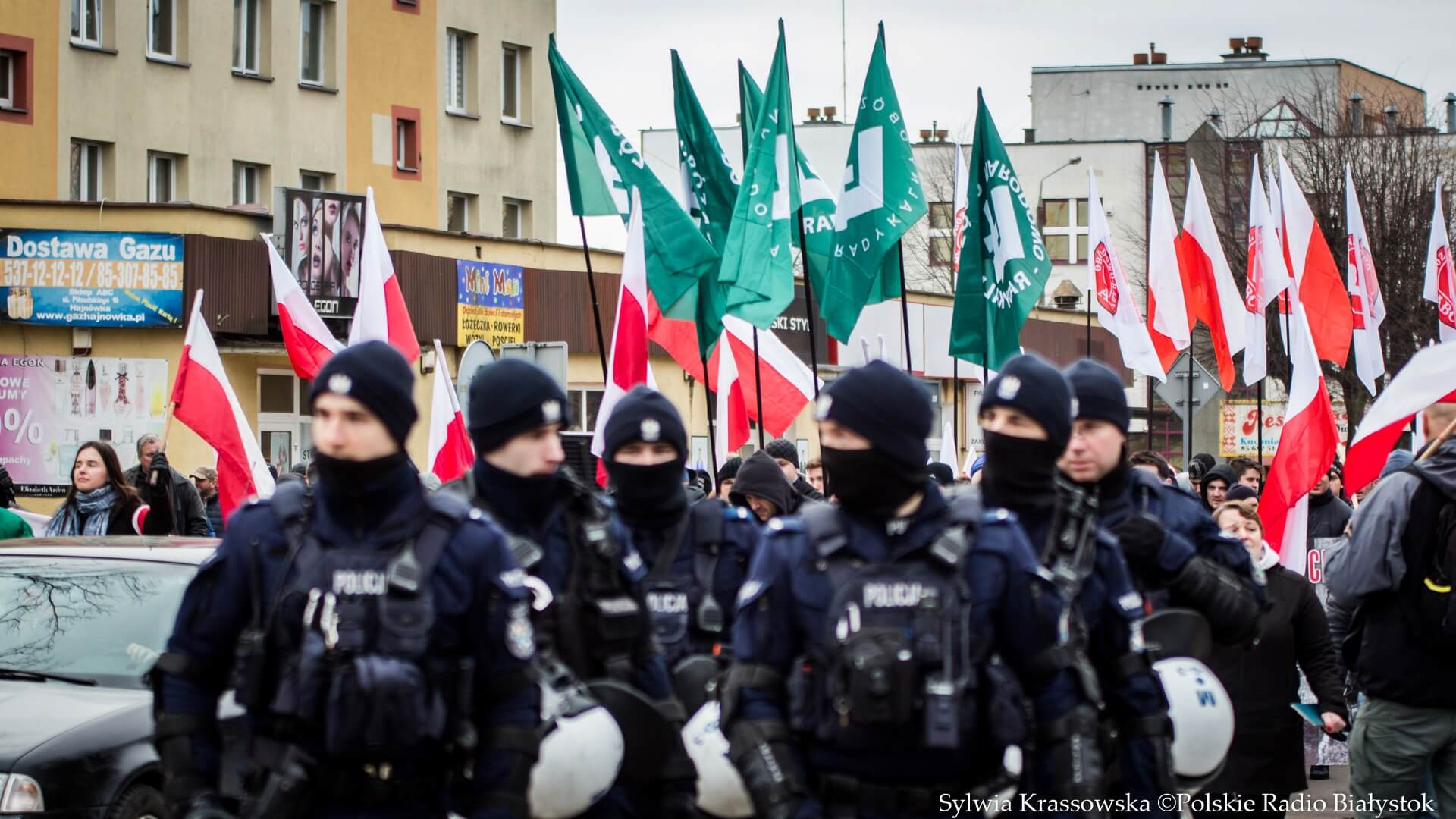 IV Marsz Pamięci Żołnierzy Wyklętych w Hajnówce, fot. Sylwia Krassowska