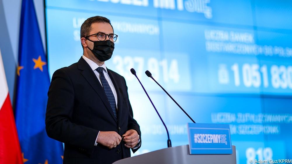 Michał Kuczmierowski, fot. Adam Guz/KPRM