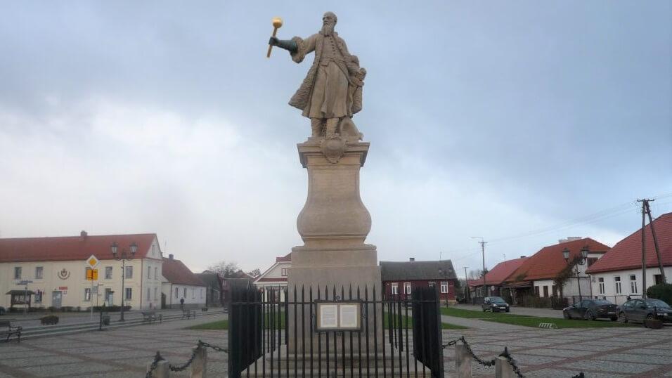 Pomnik Stefana Czarnieckiego w Tykocinie, źródło: wuoz.bialystok.pl