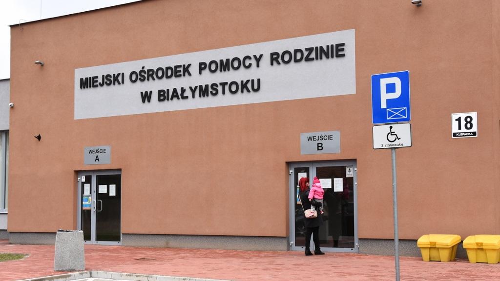 Miejski Ośrodek Pomocy Rodzinie w Białymstoku, fot. Marcin Jakowiak/UM Białystok