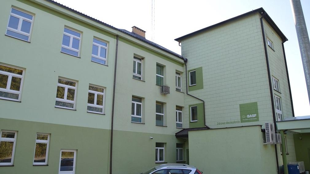 Szpital w Sejnach fot. Marcin Kapuściński