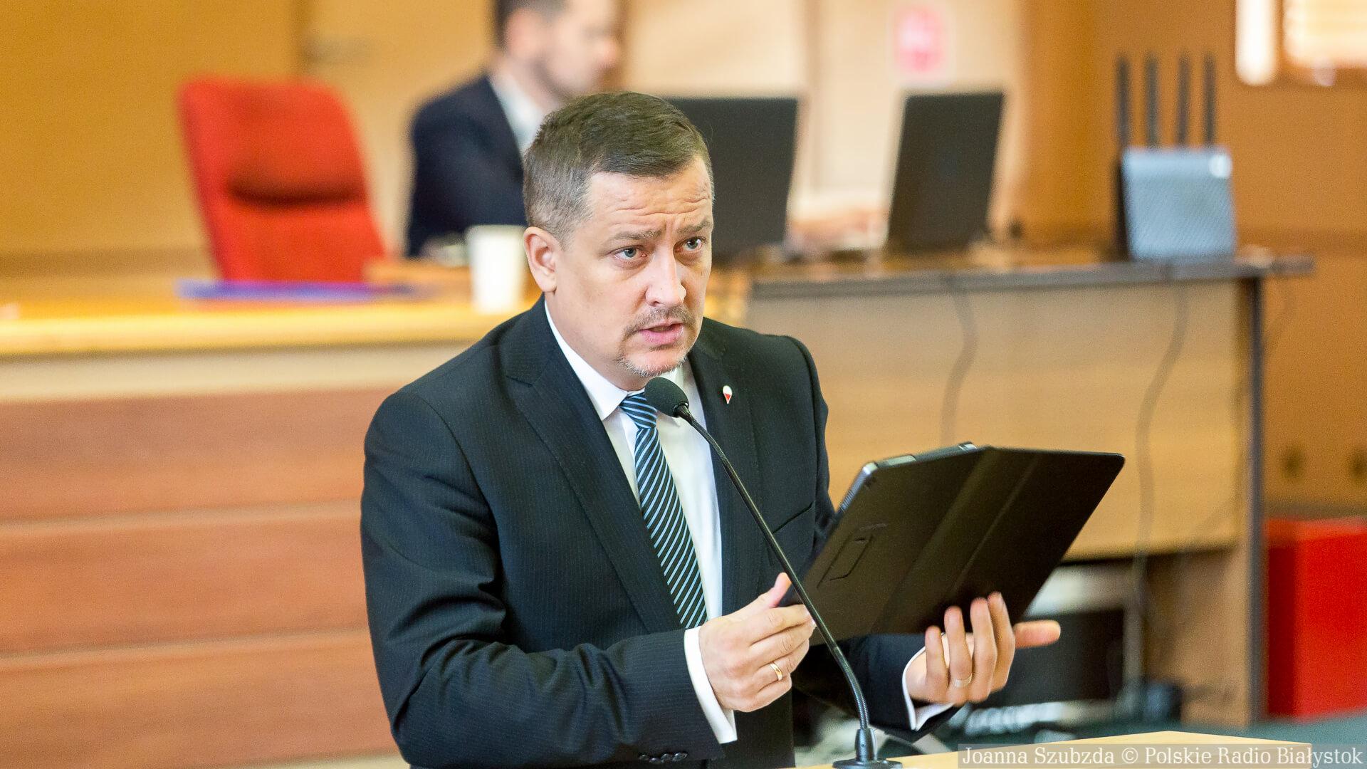 Paweł Myszkowski, fot. Joanna Szubzda