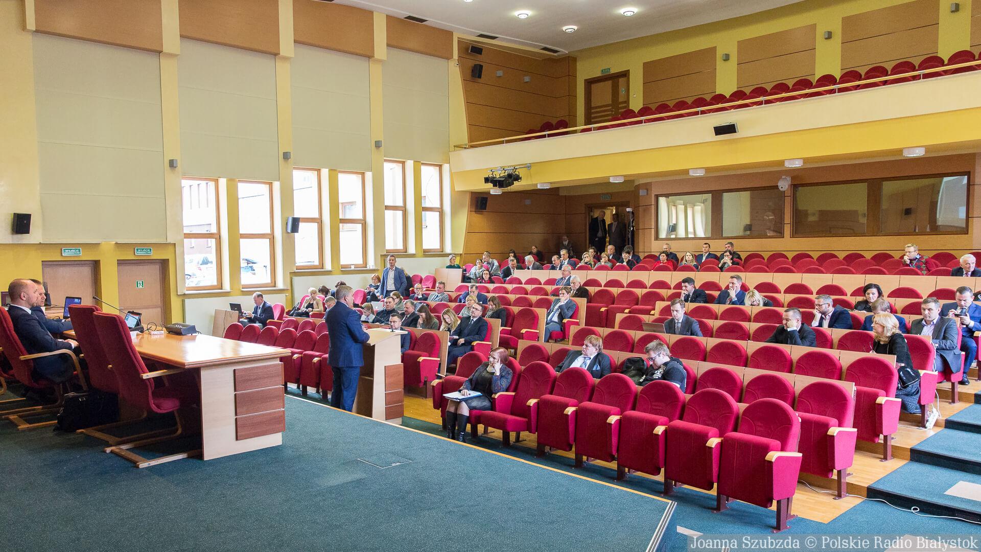 Sesja Rady Miasta Białystok 29.11.2018, fot. Joanna Szubzda