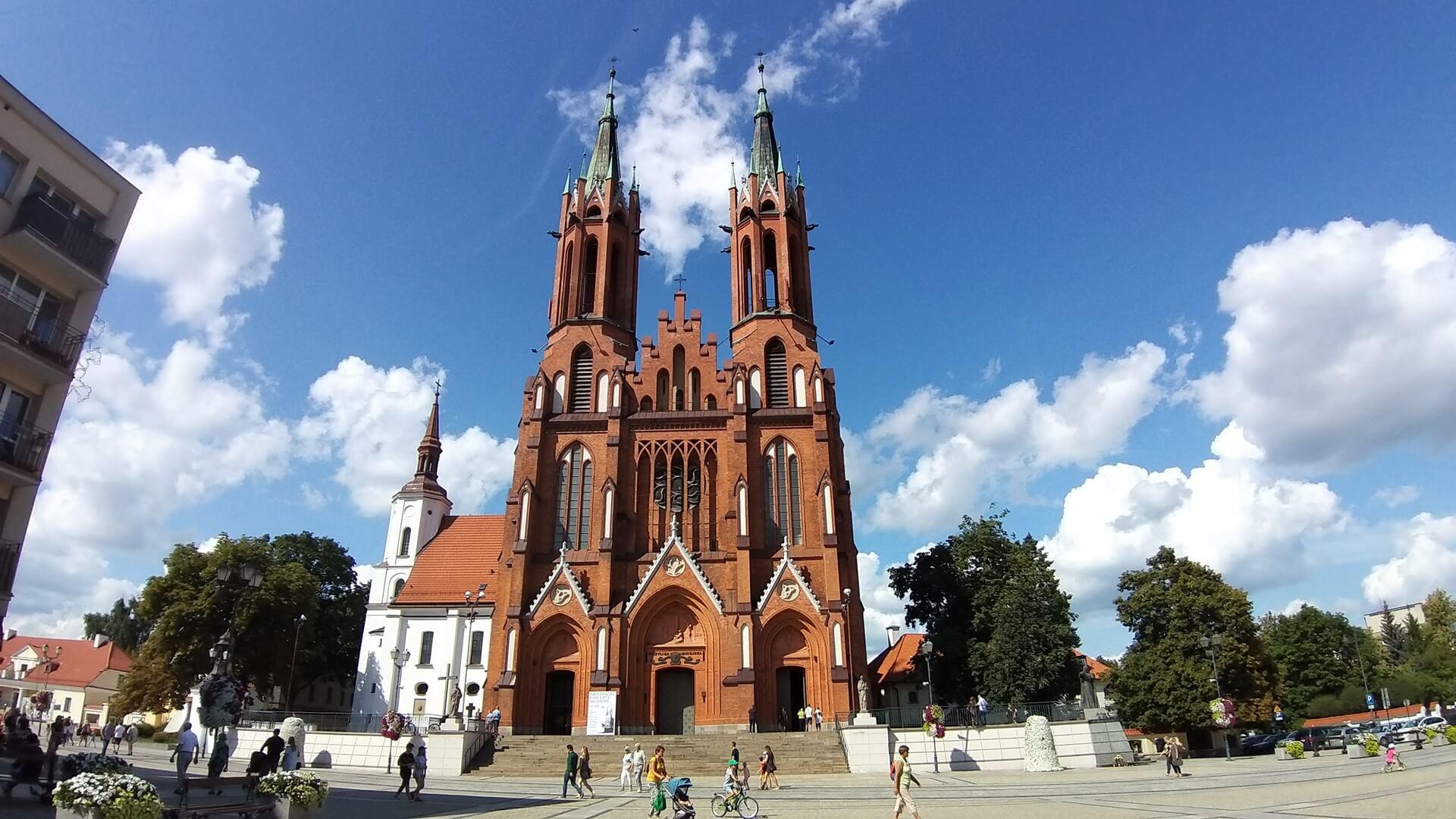 Kościół farny w centrum Białegostoku, fot. Wojciech Szubzda