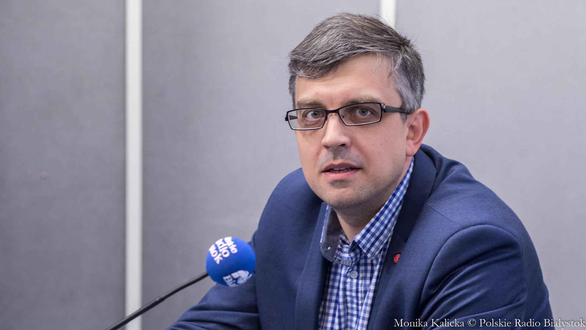 Radosław Hancewicz, fot. Monika Kalicka