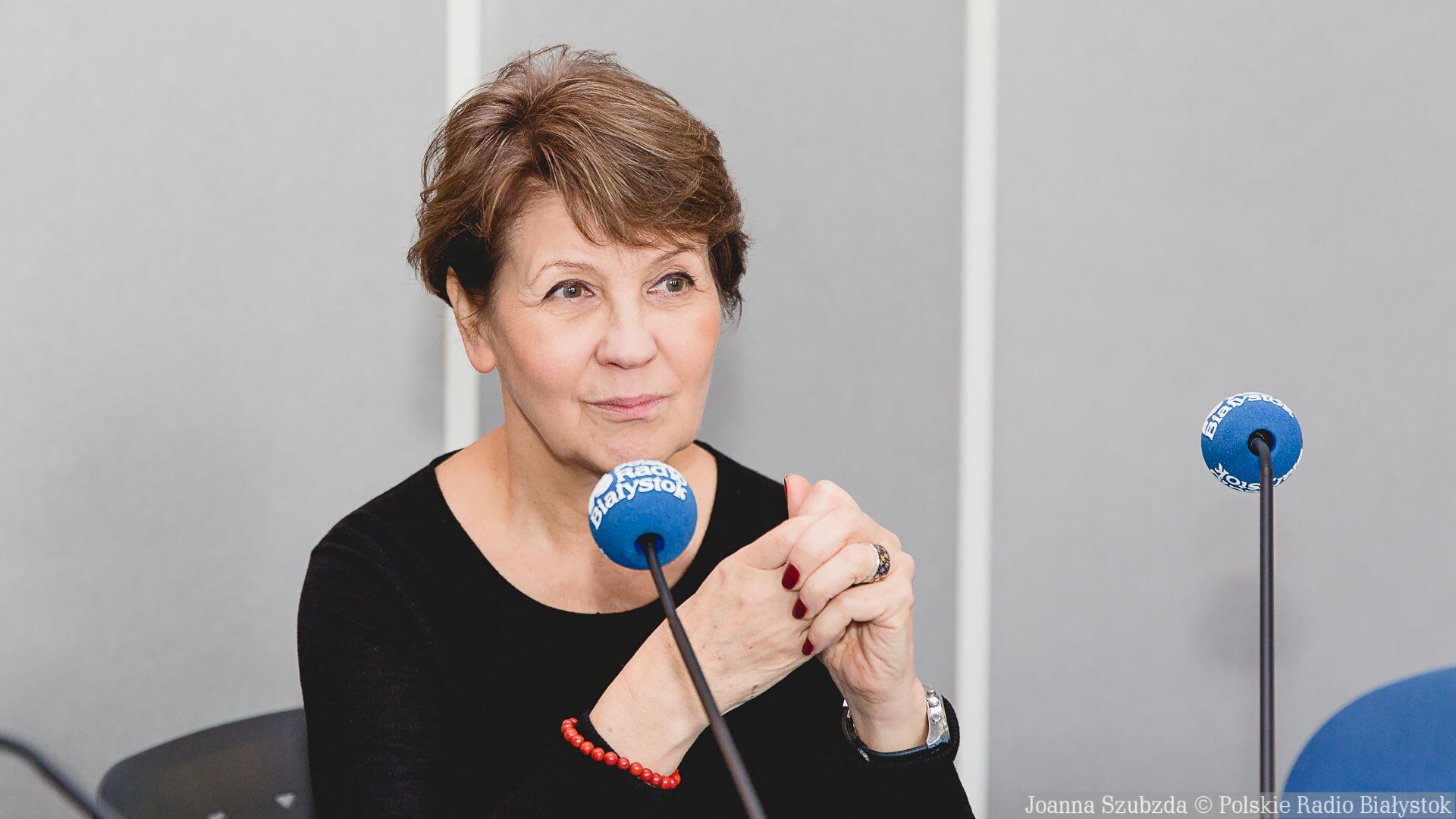 prof. Jolanta Sztachelska, fot. Joanna Szubzda