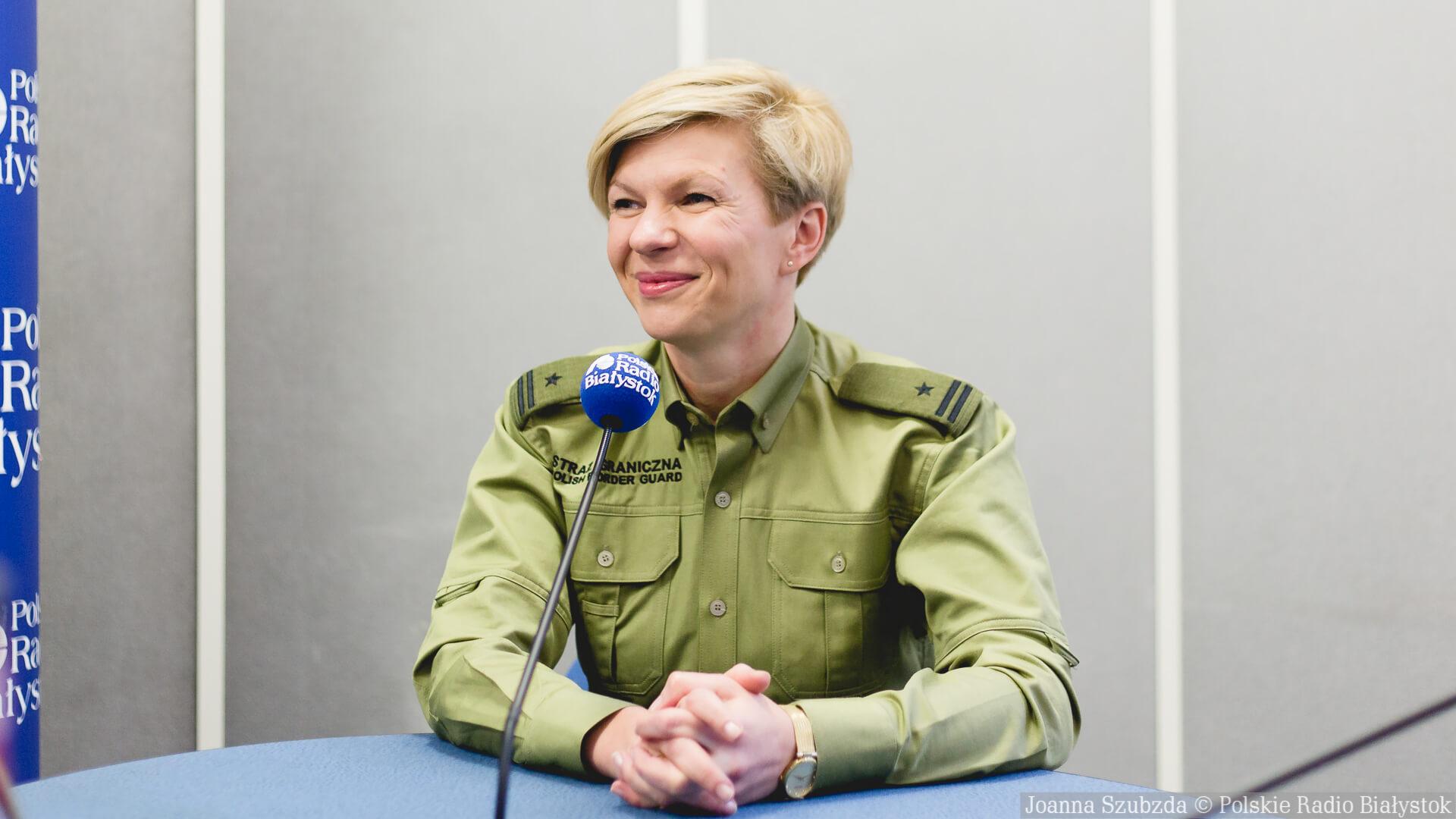 mjr Katarzyna Zdanowicz, fot. Joanna Szubzda