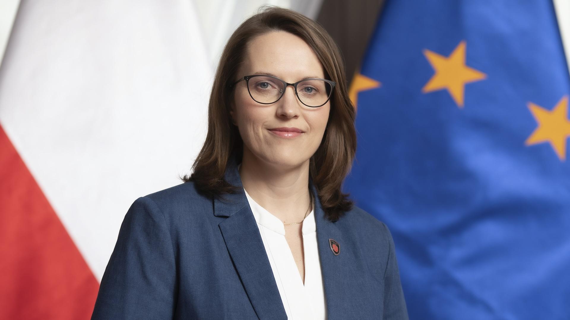 Sekretarz Stanu, Szef Krajowej Administracji Skarbowej Magdalena Rzeczkowska, źródło: www.gov.pl
