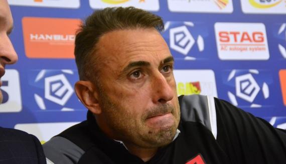 Trener Jagiellonii Białystok Iwajło Petew - fot. Robert Bońkowski